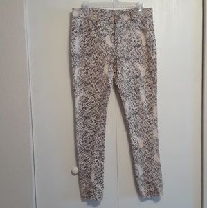 Sassy, Snake Print Jeggings by Like An Angel sz 1X